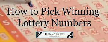 How to Pick Lottery Numbers – Is There a Strategy